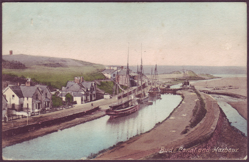 Bude Canal and Harbour, 1905