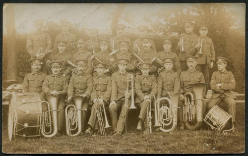 Duke of Cornwall's Light Infantry Band, c.1915
