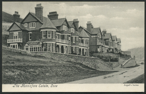 The Hannafore Estate, Looe, c.1910