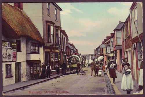 Meneage Street, Helston, 1916