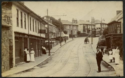 Fore Street, Pool, Illogan, 1906