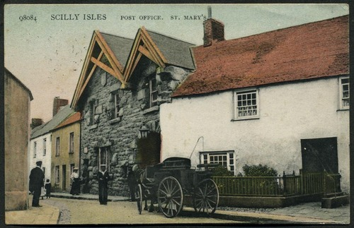 Post Office, St Mary's, 1908