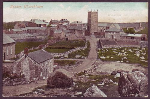 Zennor Churchtown, c.1905-10